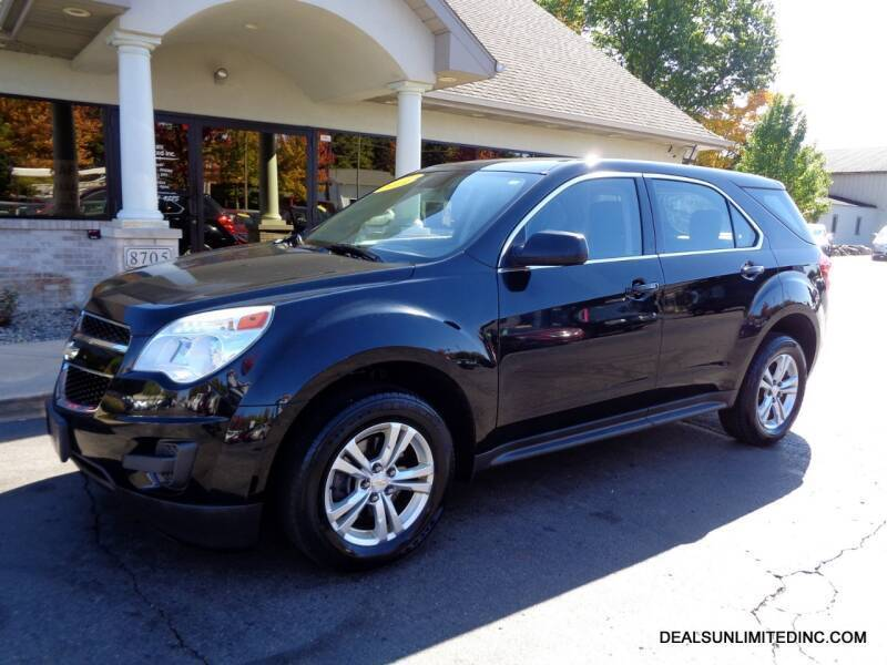 2013 Chevrolet Equinox for sale at DEALS UNLIMITED INC in Portage MI