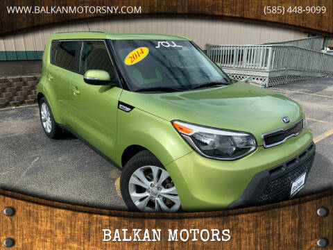 2014 Kia Soul for sale at BALKAN MOTORS in East Rochester NY