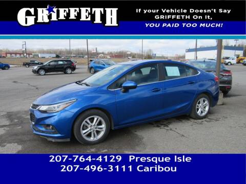 2016 Chevrolet Cruze for sale at Griffeth Mitsubishi - Pre-owned in Caribou ME