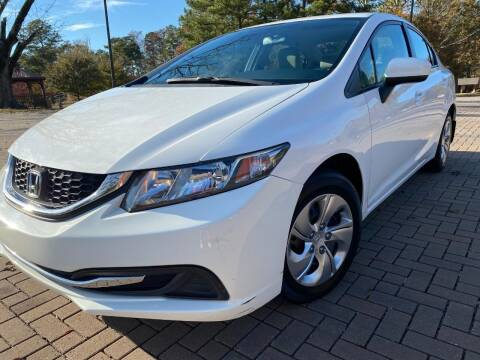 2015 Honda Civic for sale at JES Auto Sales LLC in Fairburn GA