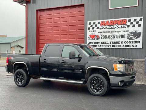 2012 GMC Sierra 2500HD for sale at Harper Motorsports-Vehicles in Post Falls ID