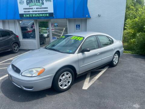 2007 Ford Taurus for sale at Ginters Auto Sales in Camp Hill PA