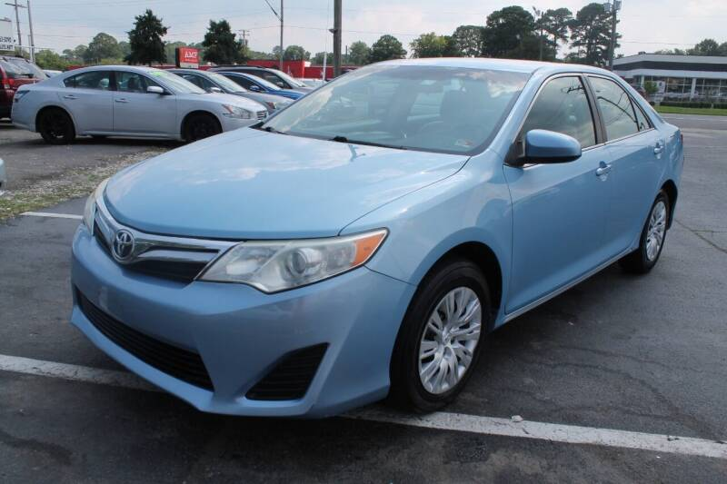 2012 Toyota Camry for sale at Drive Now Auto Sales in Norfolk VA