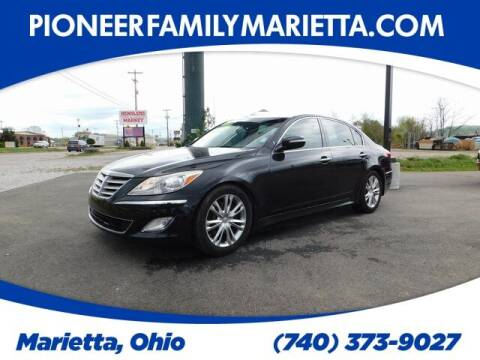 2014 Hyundai Genesis for sale at Pioneer Family preowned autos in Williamstown WV