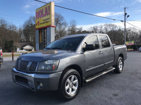2011 Nissan Titan for sale at No Full Coverage Auto Sales in Austell GA