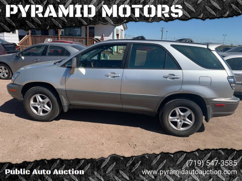 2002 Lexus RX 300 for sale at PYRAMID MOTORS - Pueblo Lot in Pueblo CO