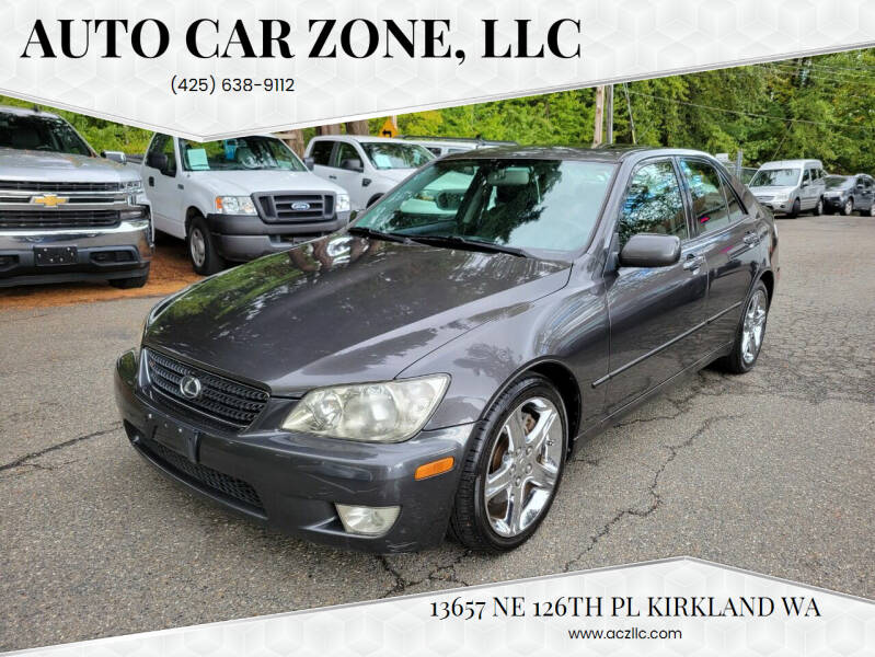 2002 Lexus IS 300 for sale at Auto Car Zone, LLC in Kirkland WA