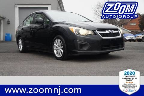 2012 Subaru Impreza for sale at Zoom Auto Group in Parsippany NJ