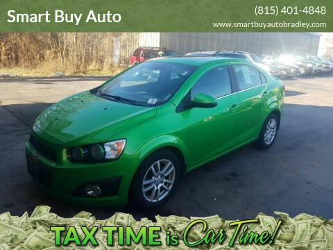 2015 Chevrolet Sonic for sale at Smart Buy Auto in Bradley IL