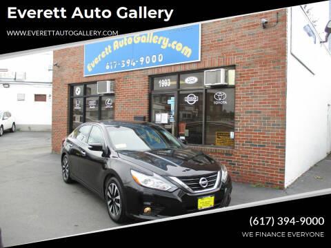 2018 Nissan Altima for sale at Everett Auto Gallery in Everett MA