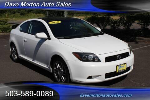2010 Scion tC for sale at Dave Morton Auto Sales in Salem OR