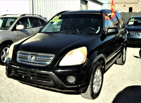 2005 Honda CR-V for sale at DESERT AUTO TRADER in Las Vegas NV