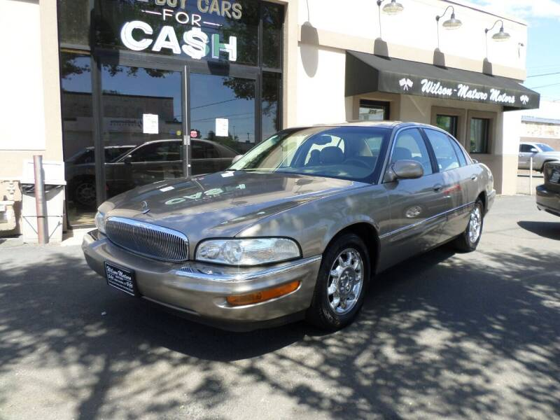 2002 Buick Park Avenue for sale at Wilson-Maturo Motors in New Haven CT