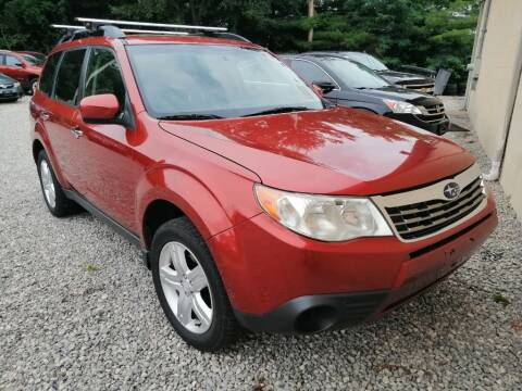 2010 Subaru Forester for sale at KRIS RADIO QUALITY KARS INC in Mansfield OH