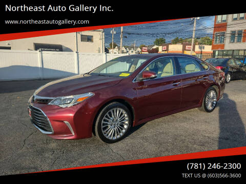2016 Toyota Avalon for sale at Northeast Auto Gallery Inc. in Wakefield MA