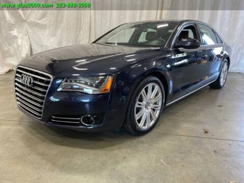 2014 Audi A8 L for sale at Green Light Auto Sales LLC in Bethany CT