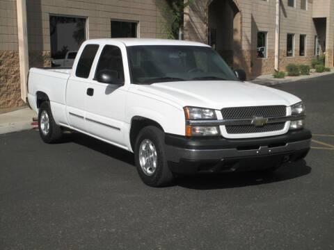2004 Chevrolet Silverado 1500 for sale at COPPER STATE MOTORSPORTS in Phoenix AZ