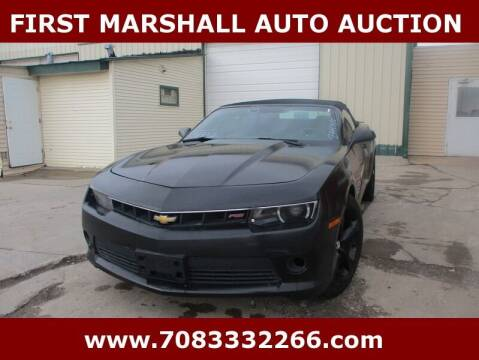 2015 Chevrolet Camaro for sale at First Marshall Auto Auction in Harvey IL