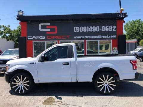 2018 Ford F-150 for sale at Cars Direct in Ontario CA