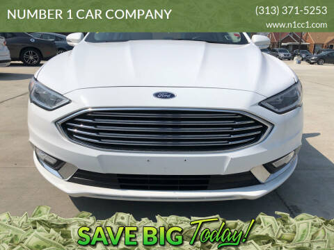 2017 Ford Fusion for sale at NUMBER 1 CAR COMPANY in Detroit MI