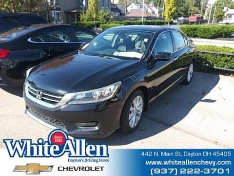 2014 Honda Accord for sale at WHITE-ALLEN CHEVROLET in Dayton OH