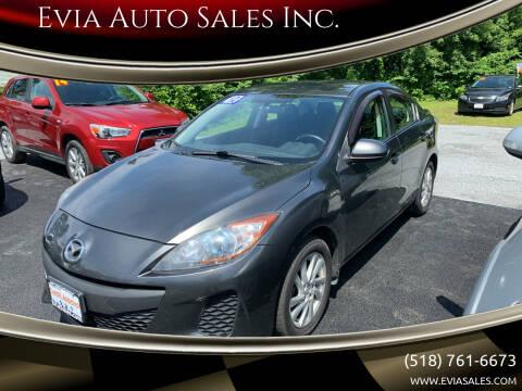 2012 Mazda MAZDA3 for sale at Evia Auto Sales Inc. in Glens Falls NY