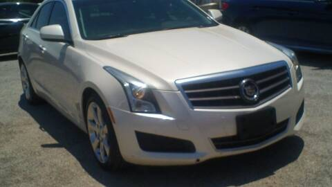 2013 Cadillac ATS for sale at Global Vehicles,Inc in Irving TX