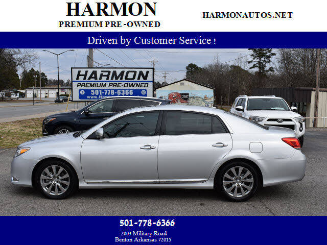 2012 Toyota Avalon for sale at Harmon Premium Pre-Owned in Benton AR