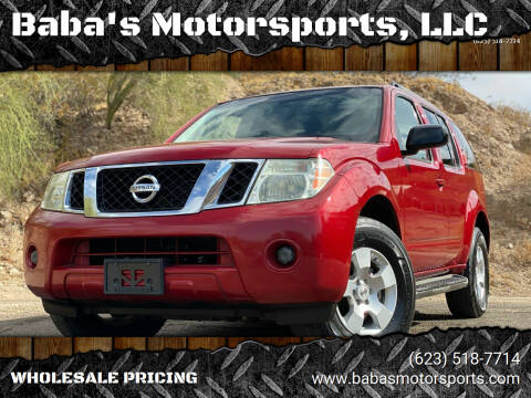 2009 Nissan Pathfinder for sale at Baba's Motorsports, LLC in Phoenix AZ