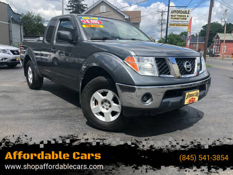 2006 Nissan Frontier for sale at Affordable Cars in Kingston NY