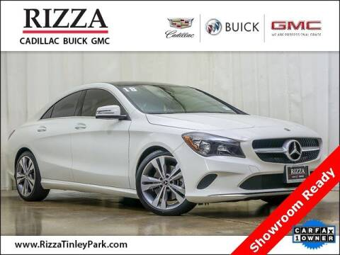2018 Mercedes-Benz CLA for sale at Rizza Buick GMC Cadillac in Tinley Park IL