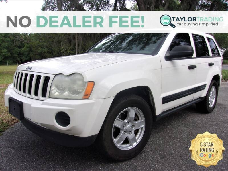 2005 Jeep Grand Cherokee for sale at Taylor Trading in Orange Park FL
