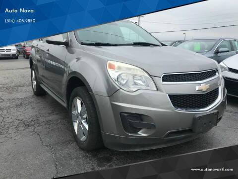 2012 Chevrolet Equinox for sale at Auto Nova in St Louis MO