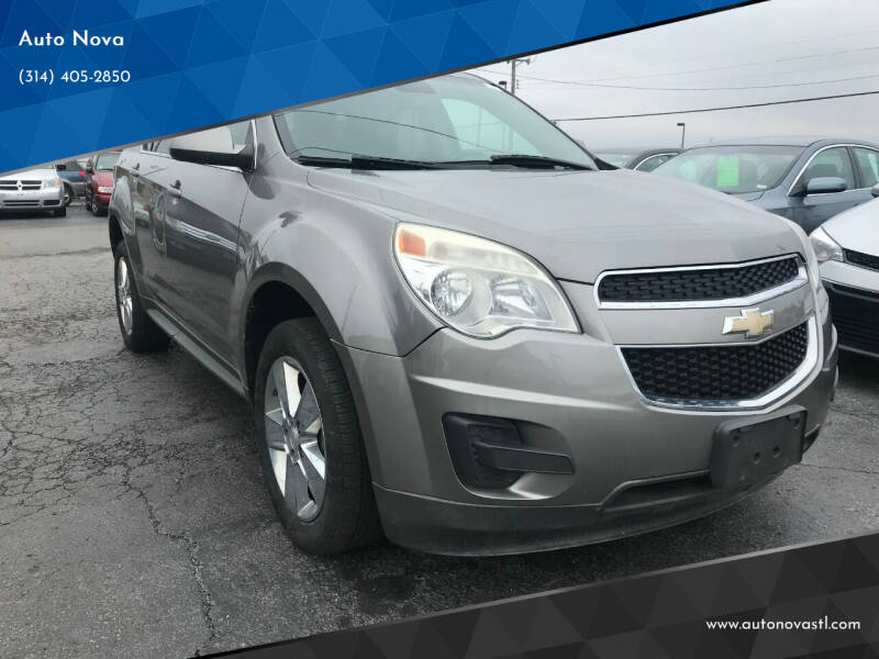2012 Chevrolet Equinox for sale at Auto Nova in Saint Louis MO