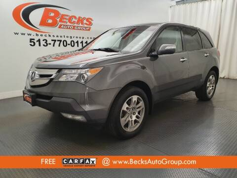 2008 Acura MDX for sale at Becks Auto Group in Mason OH