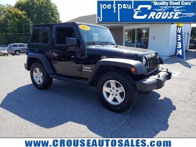 2011 Jeep Wrangler for sale at Joe and Paul Crouse Inc. in Columbia PA