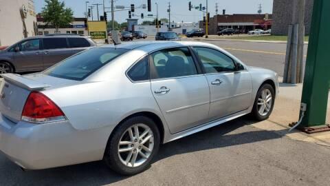 2013 Chevrolet Impala for sale at North Metro Auto Sales in Cambridge MN