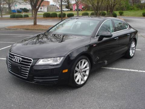 2013 Audi A7 for sale at Uniworld Auto Sales LLC. in Greensboro NC