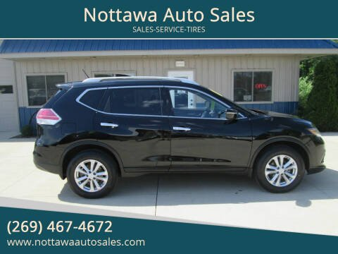 2015 Nissan Rogue for sale at Nottawa Auto Sales in Nottawa MI