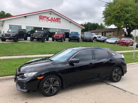 2017 Honda Civic for sale at Efkamp Auto Sales LLC in Des Moines IA