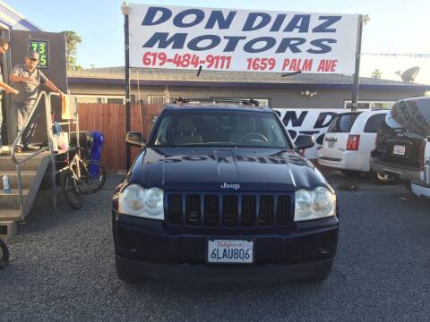2005 Jeep Grand Cherokee for sale at DON DIAZ MOTORS in San Diego CA