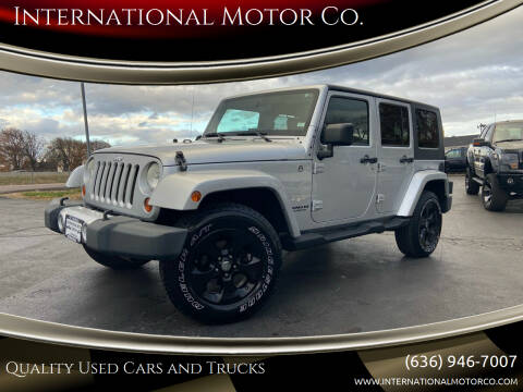 2008 Jeep Wrangler Unlimited for sale at International Motor Co. in St. Charles MO