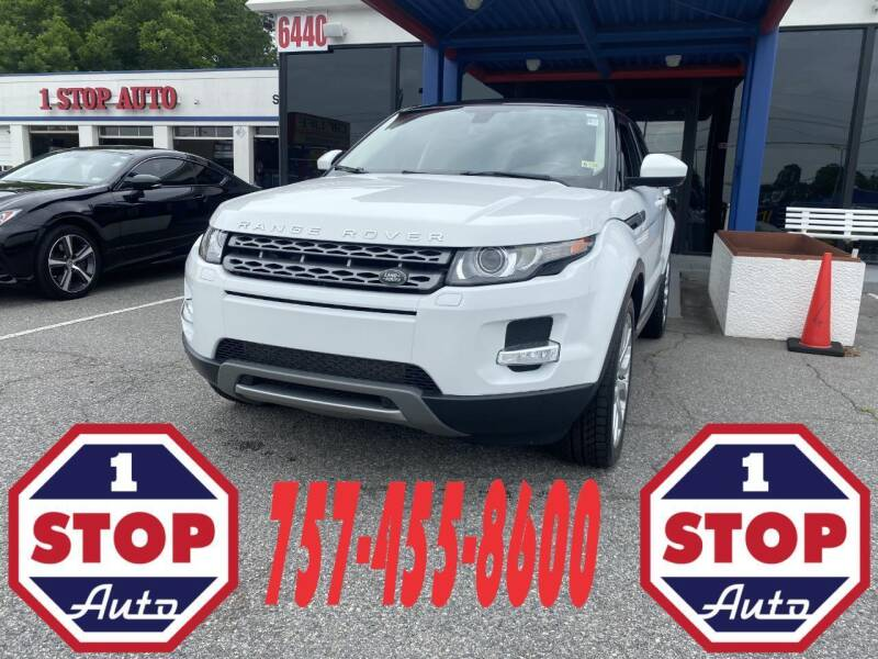 2015 Land Rover Range Rover Evoque for sale at 1 Stop Auto in Norfolk VA