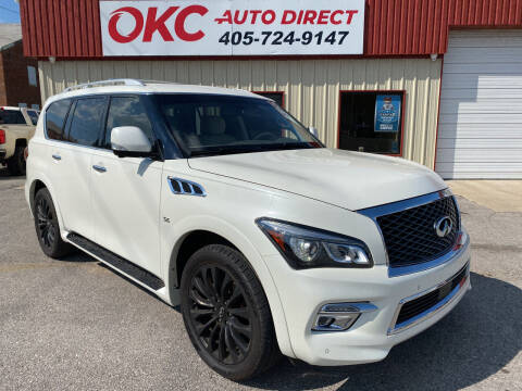 2016 Infiniti QX80 for sale at OKC Auto Direct, LLC in Oklahoma City OK