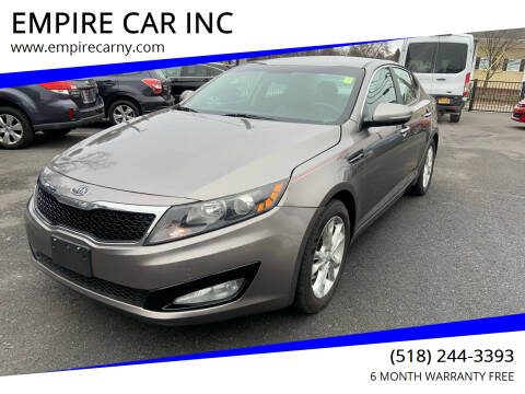 2012 Kia Optima for sale at EMPIRE CAR INC in Troy NY