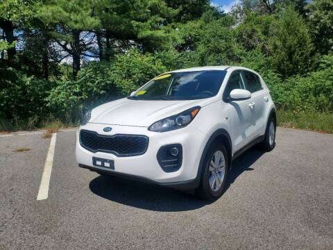 2017 Kia Sportage for sale at Westford Auto Sales in Westford MA