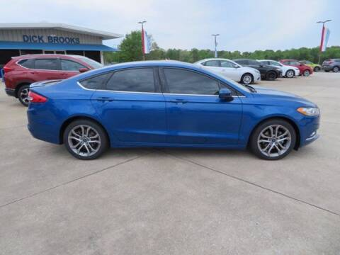 2017 Ford Fusion for sale at DICK BROOKS PRE-OWNED in Lyman SC