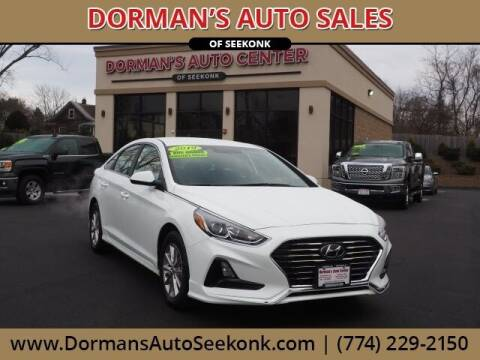 2019 Hyundai Sonata for sale at DORMANS AUTO CENTER OF SEEKONK in Seekonk MA