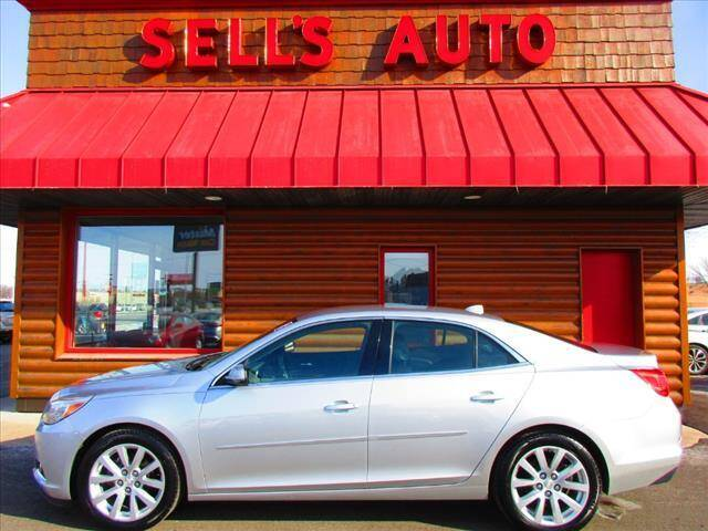 2013 Chevrolet Malibu for sale at Sells Auto INC in Saint Cloud MN