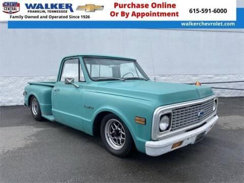 1971 Chevrolet C/K 10 Series for sale at WALKER CHEVROLET in Franklin TN